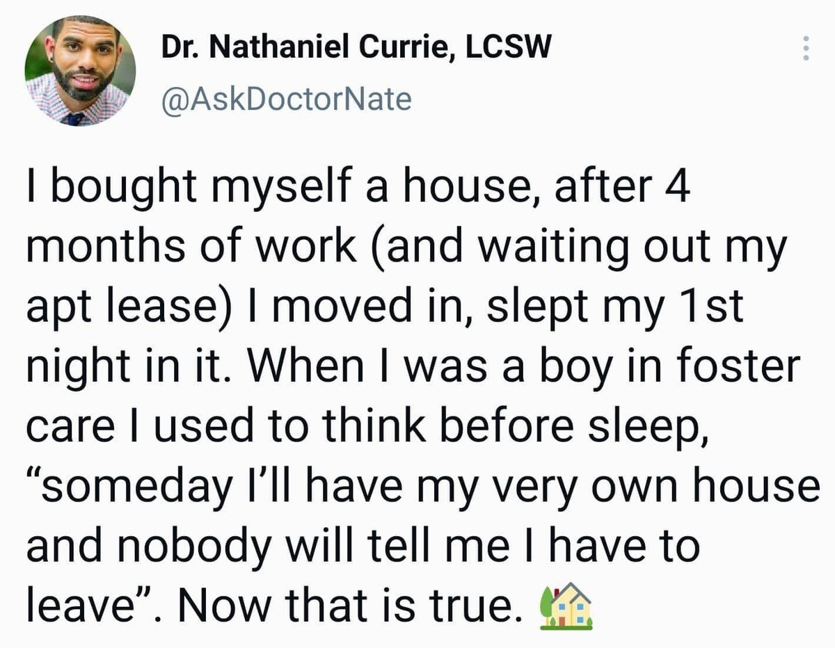 certain Trout. .. >after 4 months of work what job pays enough to even mortgage a house after four months while renting!?!