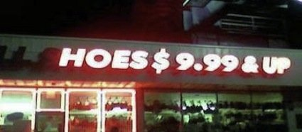 Cheap 'hoes'. the pimps in this town buy their own shops!<br /> More on my profile.