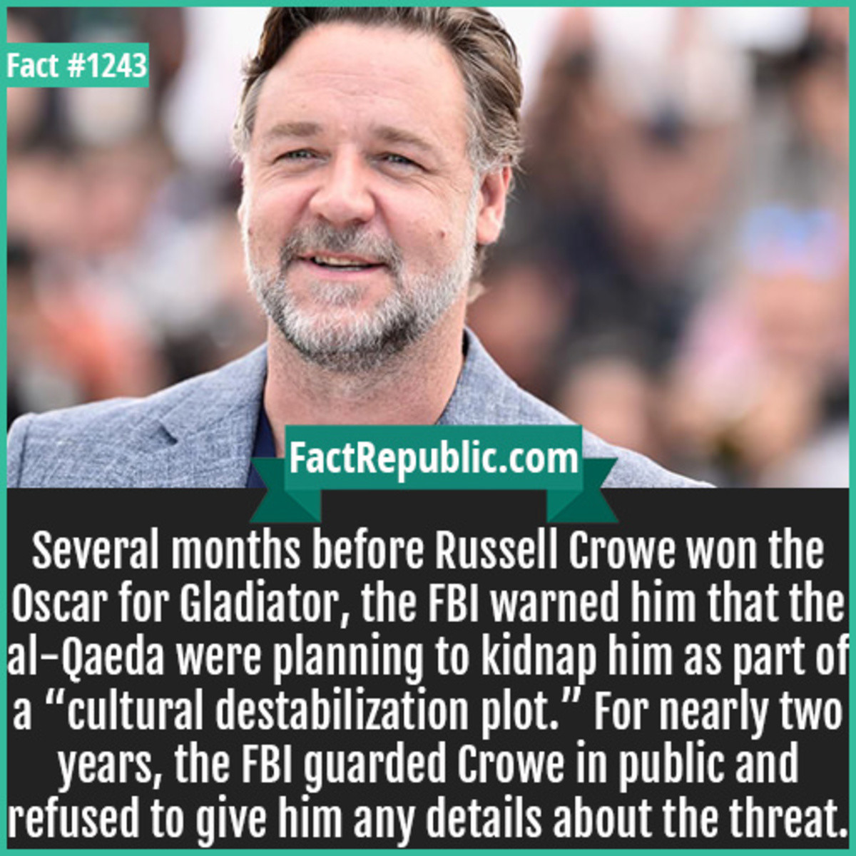 chemical Mosquito. .. lies they just wanted to hang out with russel crowe