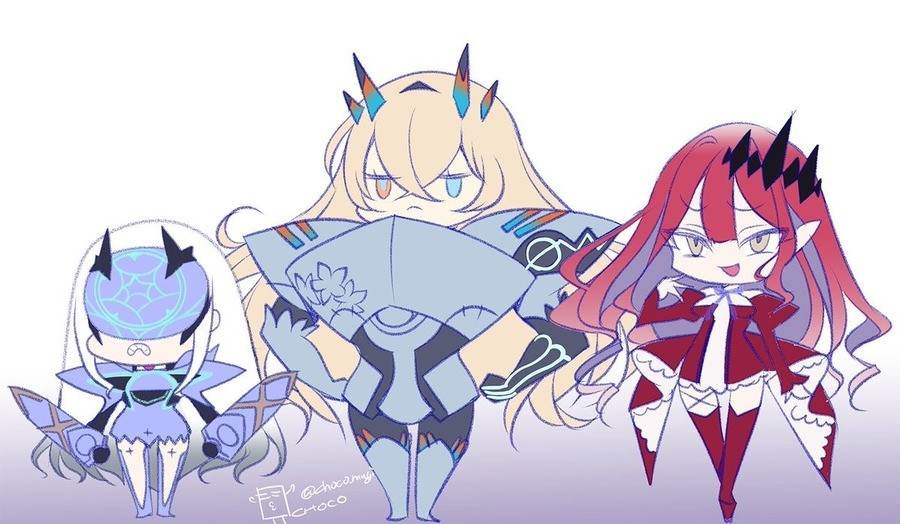 Chibi Fairy Khts. .. Helose Nightguy Who does have the FK Tristan or Vampire List?