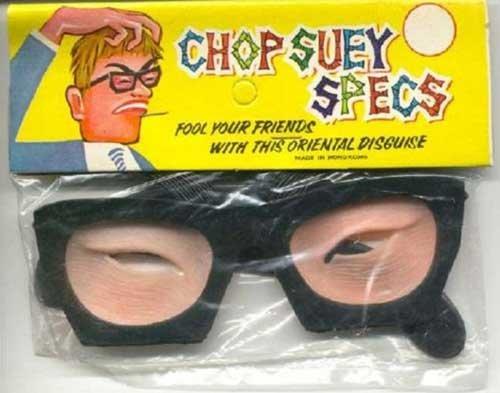 CHOP SUEY SPECS. .. Ah, me rikey, me rikey rots