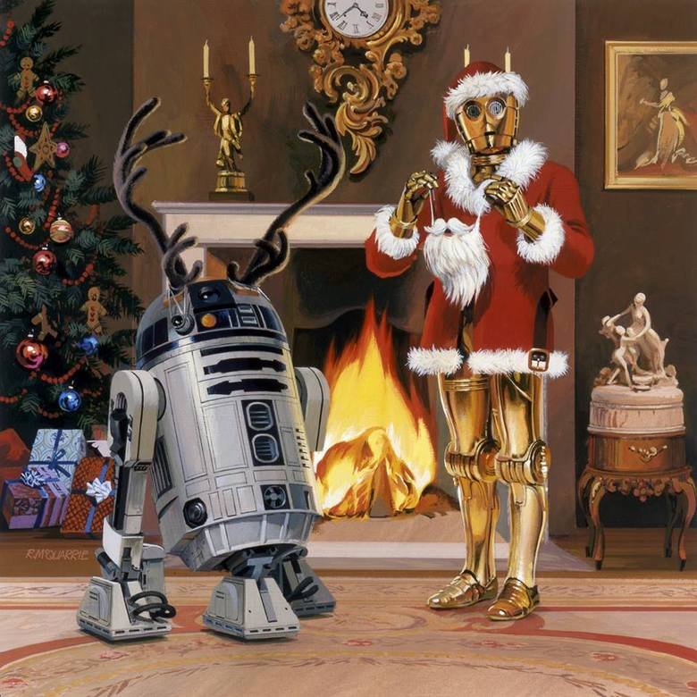 Christmas, Santa Strikes back. Not mine, upload your star wars christmas pictures for fun..