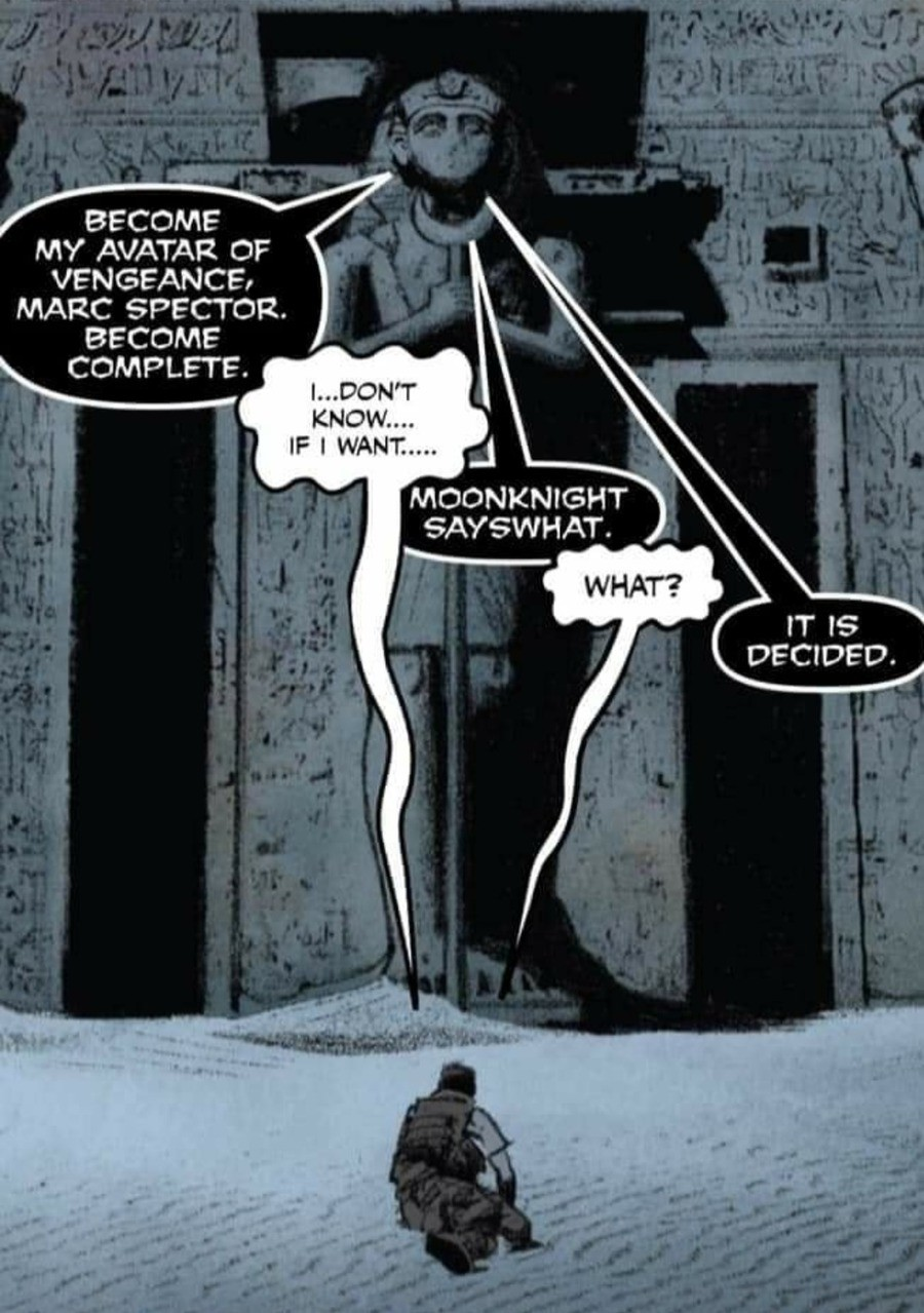 clapping Baboon. .. Apparently Oscar Isaac got casted as Moon Knight