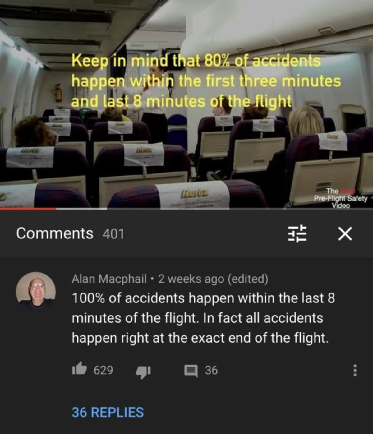 consequential Louse. .. Really bad ones maybe, but planes are pretty good at redundant safety measures.