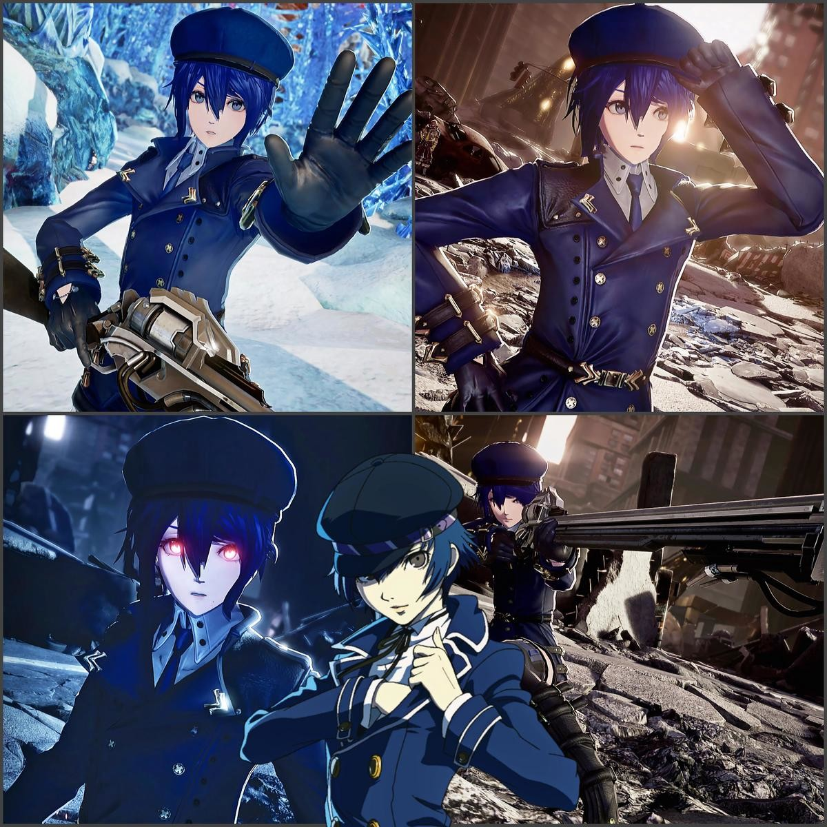 Creating naoto on game. .. Blue hair tomboys are my weakness Tsugumi from Nisekoi