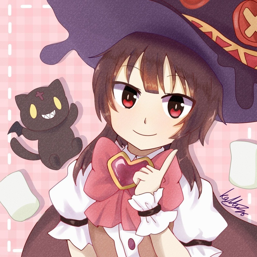 Daily Megu - 926: Pink Megu. join list: DailySplosion (803 subs)Mention History Source: .. Blessed by thy megumin amen