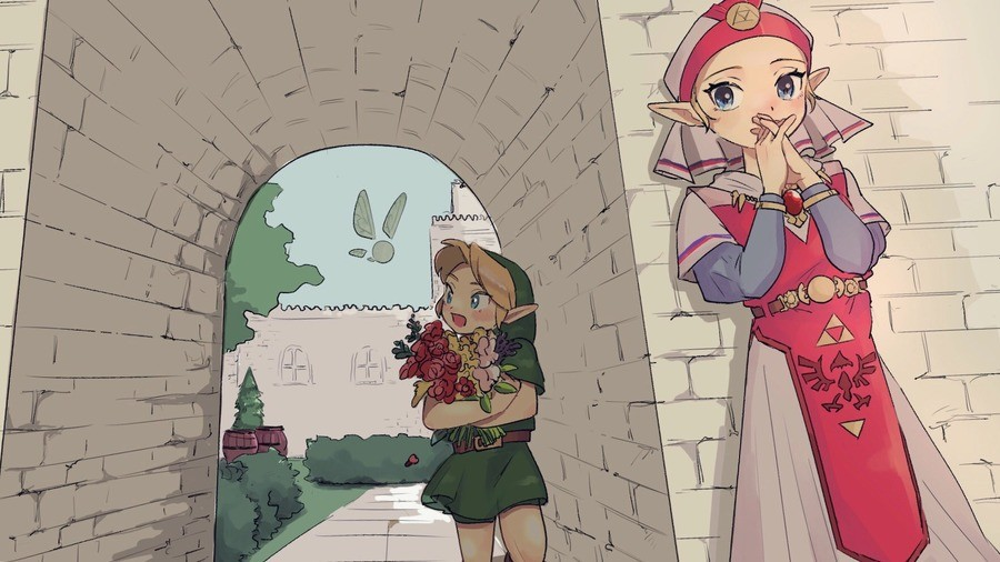 Daily Zelda - 840: Bring her flowers. join list: DailyZelda (509 subs)Mention History Source: .. >DailyWaifus channel >Child Zelda