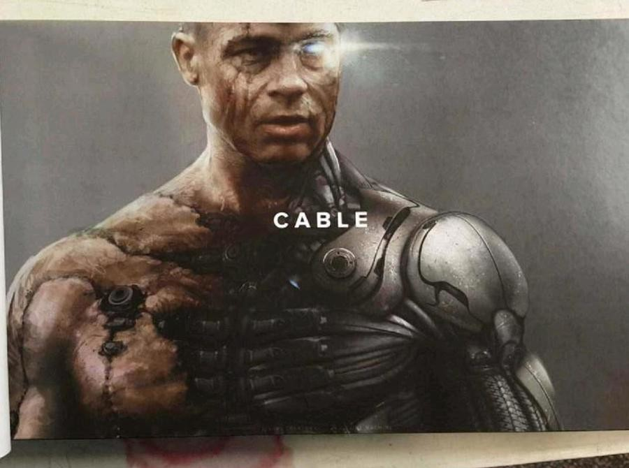 Deadpool 2 Concept Art, The Good and the Bad. And now a comic comparison: So pretty good overrall, I'd honestly be thrilled with brad pitt as cable, hes great i