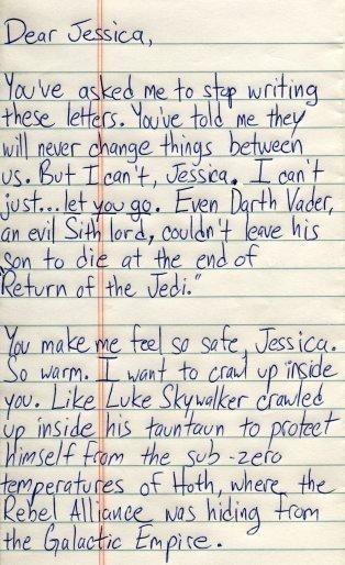 Dear Jessica. .. lol nerd win