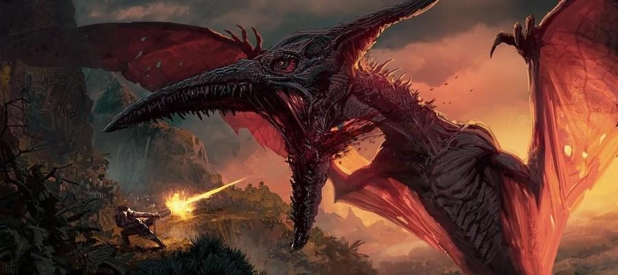 Dino hunter by Daryl Mandryk. .
