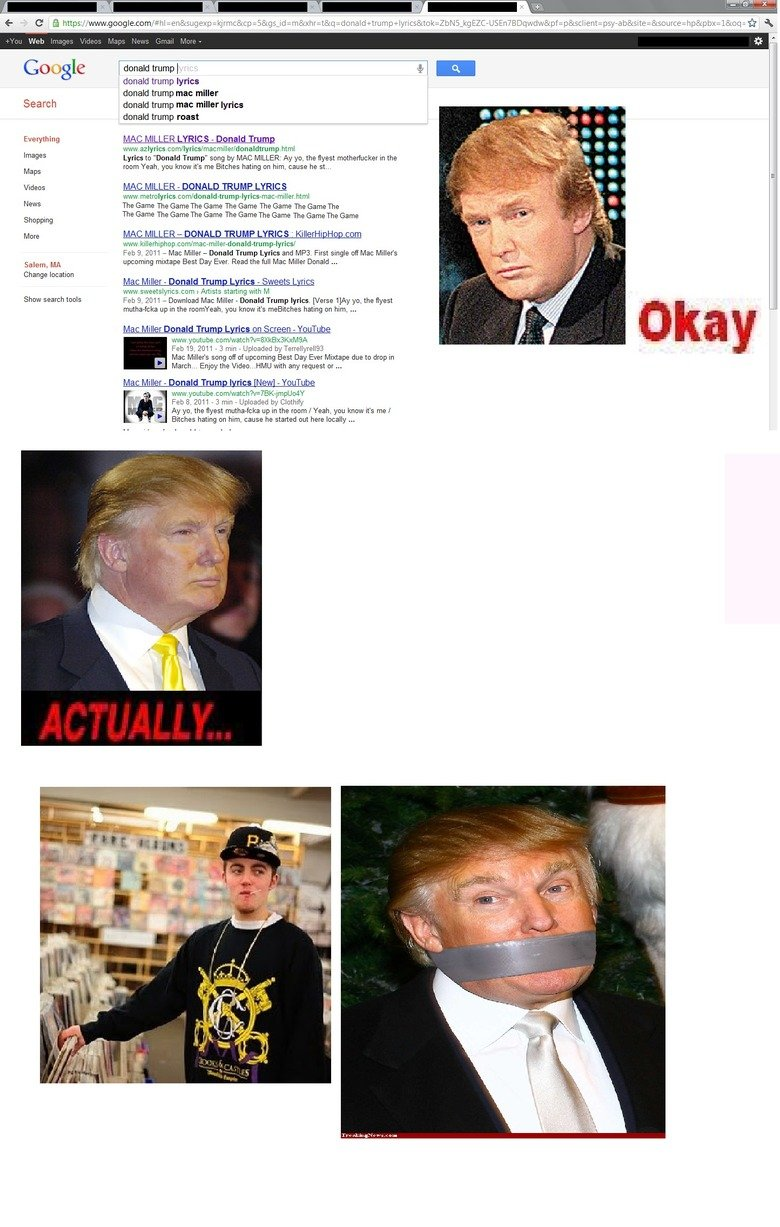 Donald Trump.. okay... OC spare a thumb if you will...