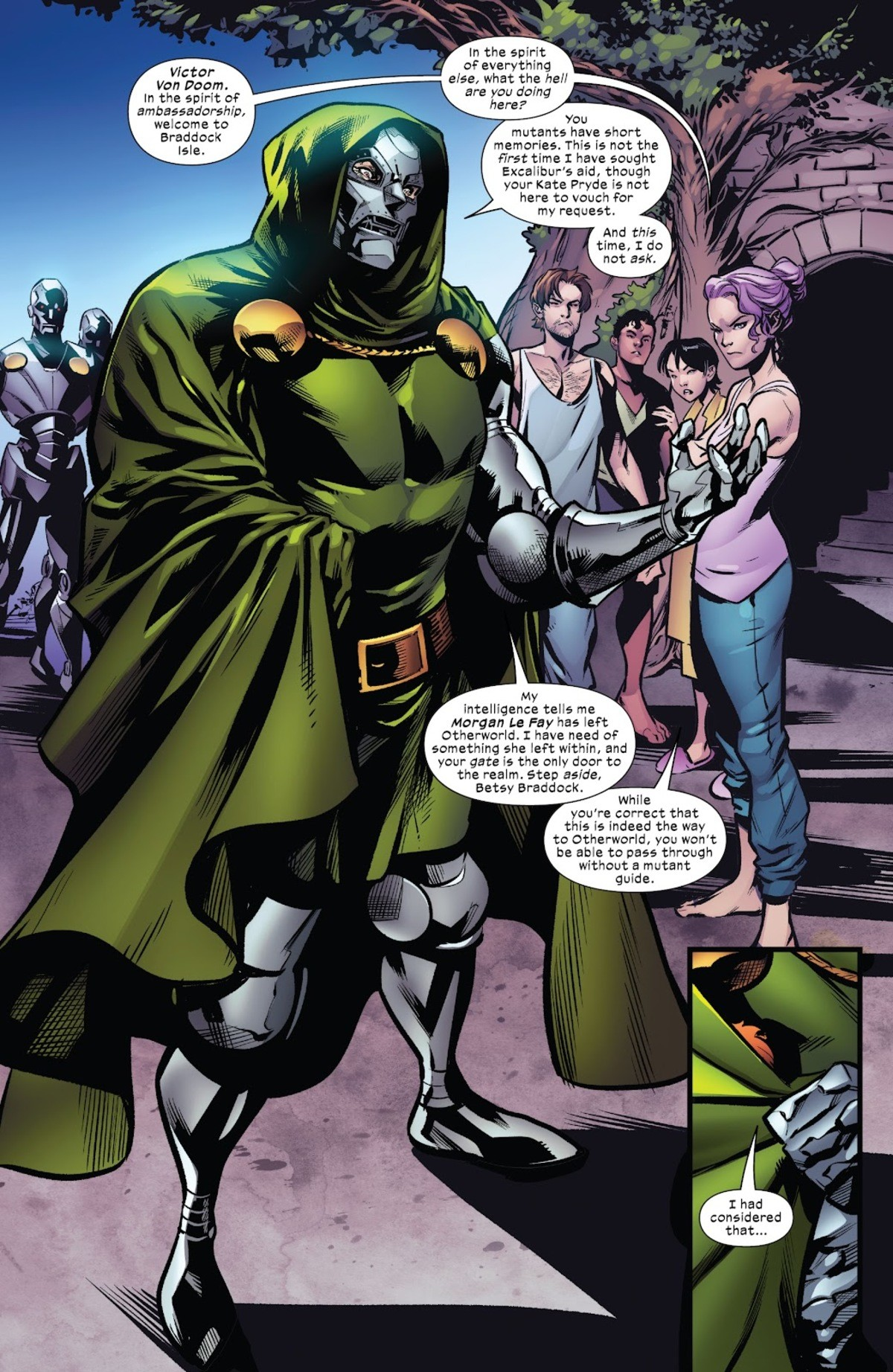 Doomnapping. eXcalibur Issue #23 .. People are always assuming the worst of Victor...