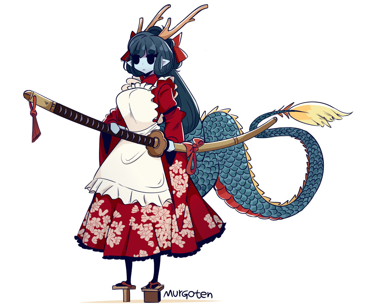 Dragon Maid from the East. join list: KimonoMonsters (398 subs)Mention History.. Centurii-chan's version Comment edited at .