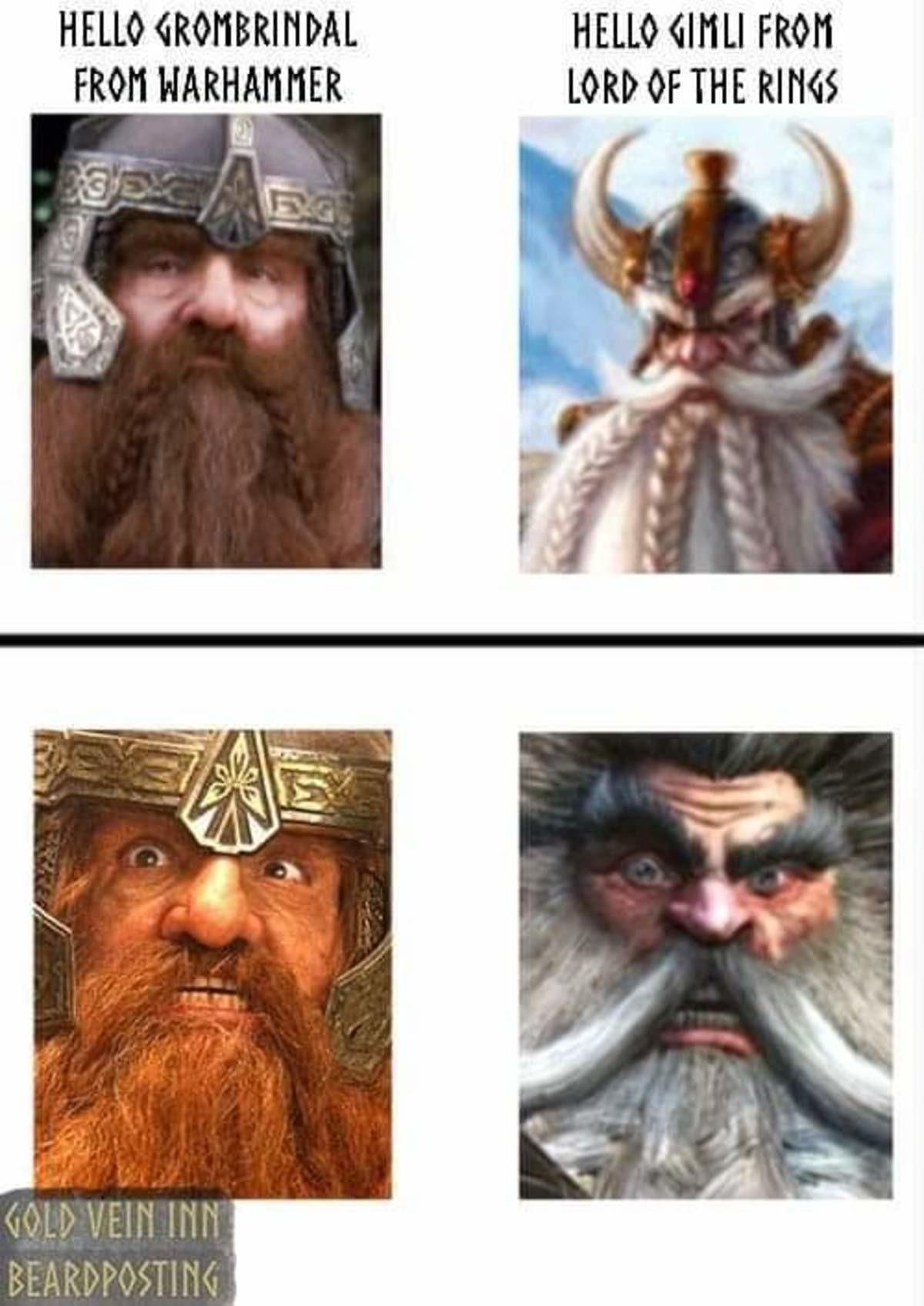 Dwarf. .. Rock and stone, to the bone.