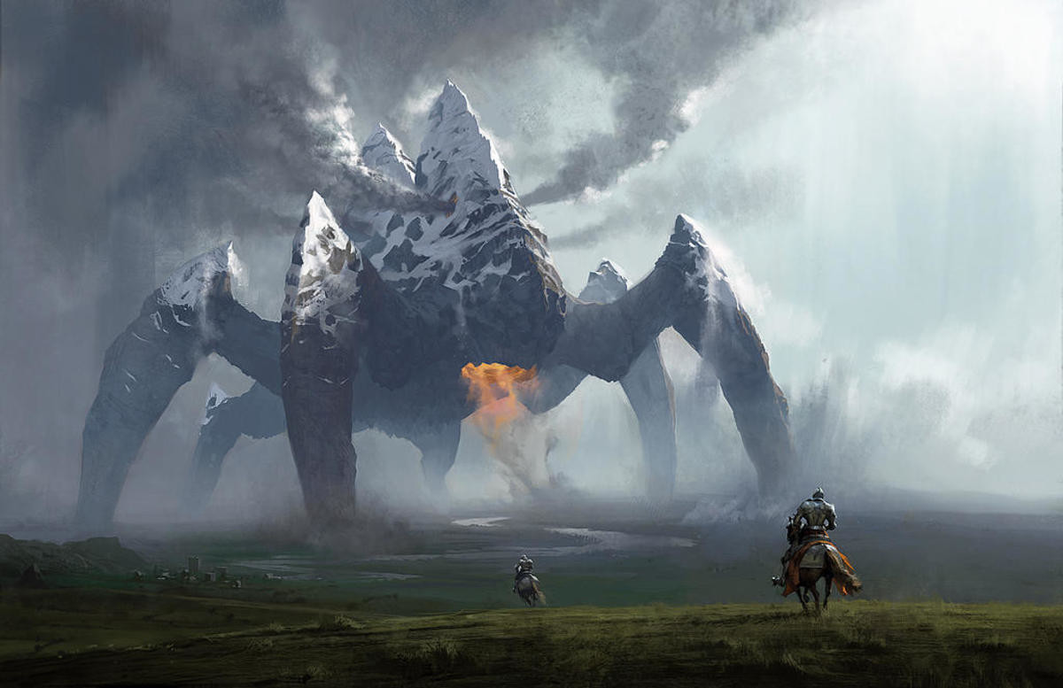 Earth Colossus by Chase Stone. .. Yeah, they Chase Stone aight.