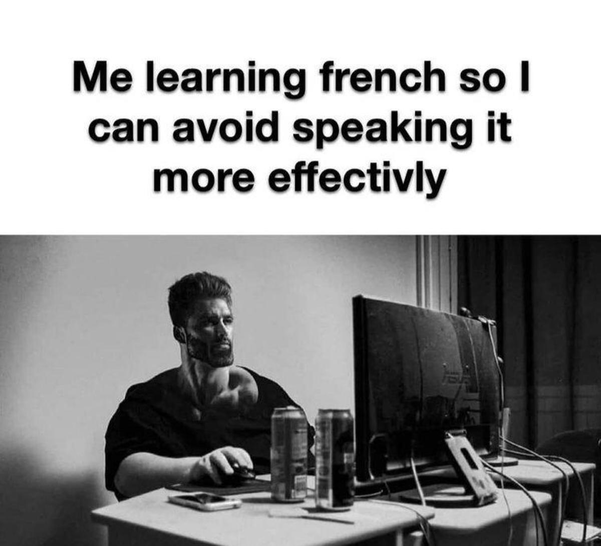 envious Chamois. .. I learned English to read memes.