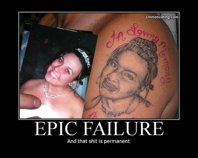 Epic Fail. HA!.. dude this is the 10th time this gets reposted this isnt old its dead