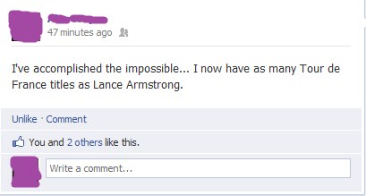 Facebook (derp). No medals for you.