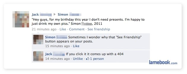 Facebook Friendship. Hey what's up tags?.