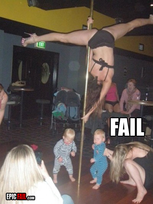 FAIL. wow hot.. also theres an old lady there
