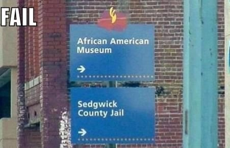 """Fail. . s' Ami museum Sedrikk I """"' county Jail l lar-.:. the only fail i see is that it's a repost"""