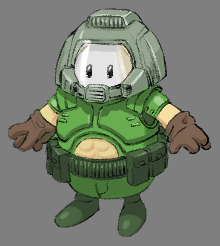Fall Doomguy. .. That post right there!