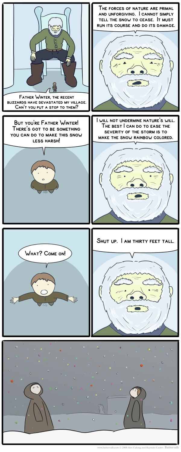 Father Winter. .