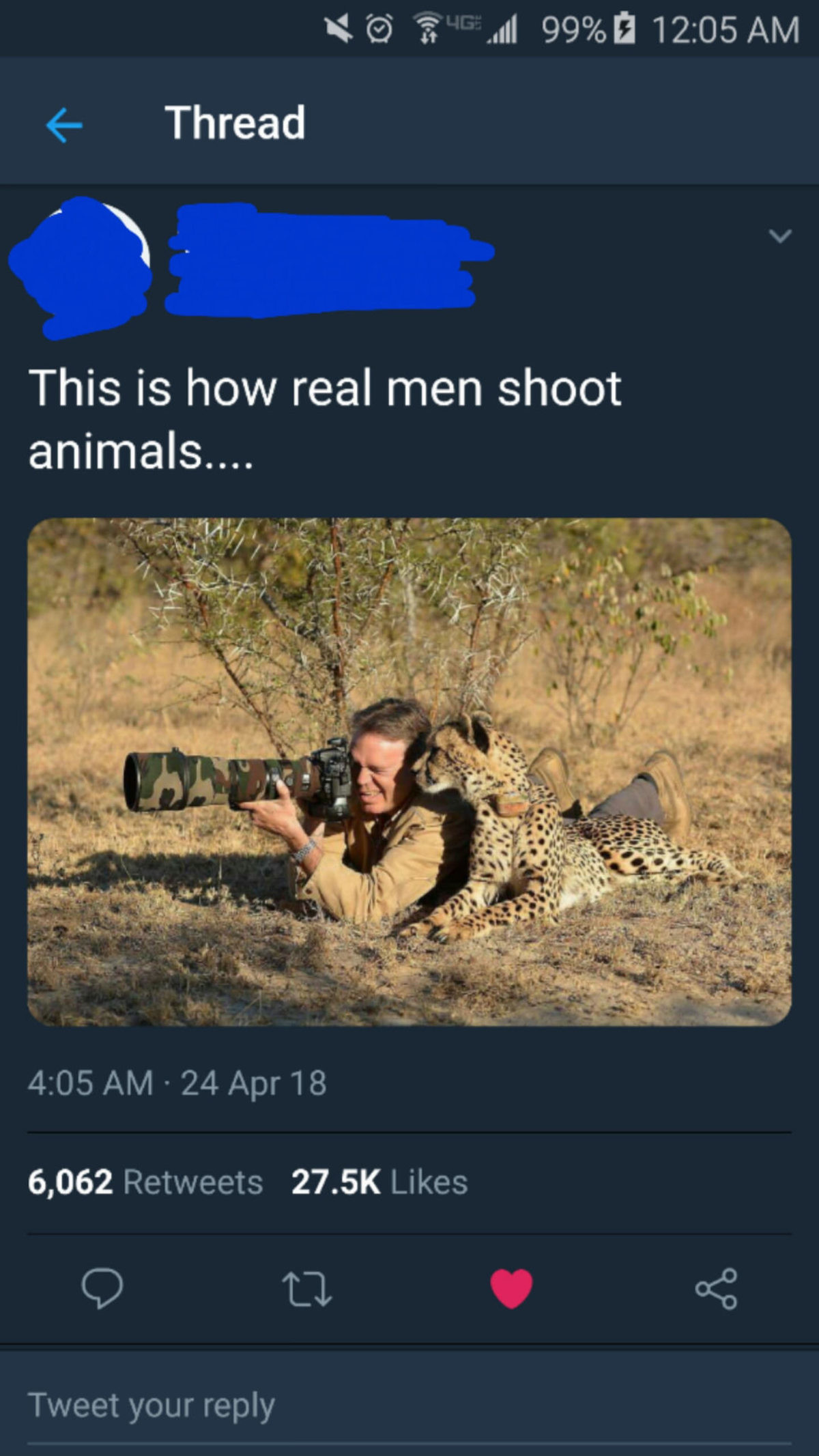Feeling gloom? It's friday my dude. join list: SoWholesome (188 subs)Mention History. Attic I'; All 12: 05 AM 4- Thread This is how real men shoot animals.... 6