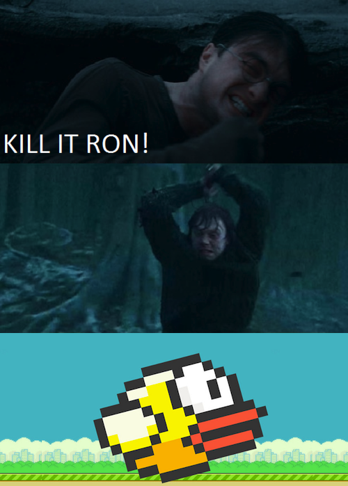 FOR THE LOVE OF GOD. OC.. KILL IT RON!