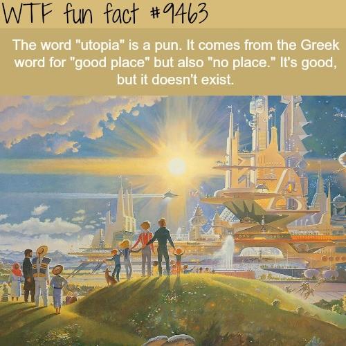 general Sheep. .. Eu = good, u = no Eutopia, utopia