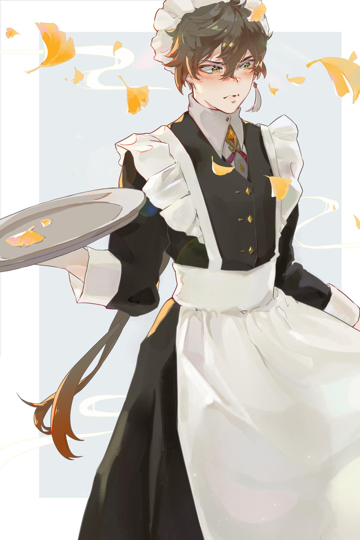 genshin maids. join list: SplendidServants (495 subs)Mention History join list: