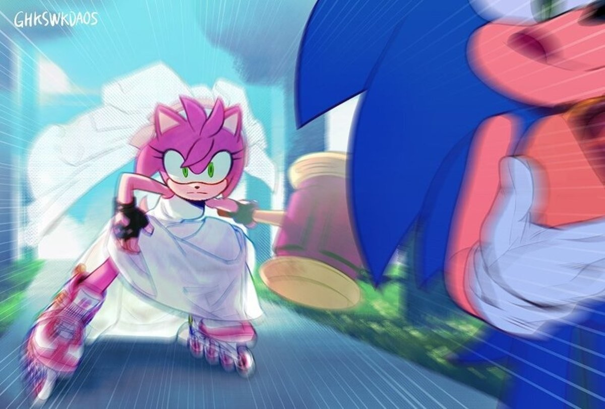 GHKSWKDA0S. .. Quick Christine-Chan is incarcerated! Post pictures of sonic with blue arms