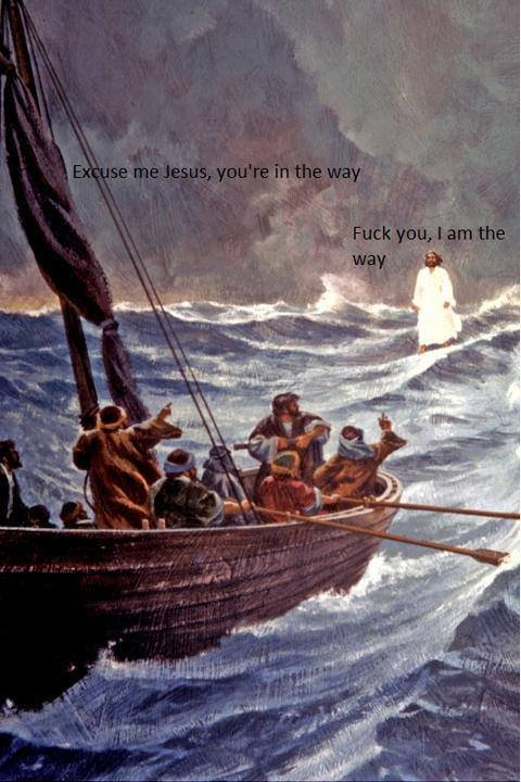 Goddammit Jesus. .. the original