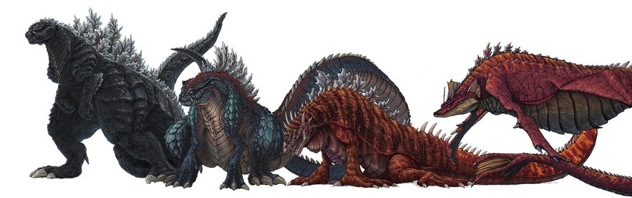 Godzilla singular point. .. Oh is that Gabara