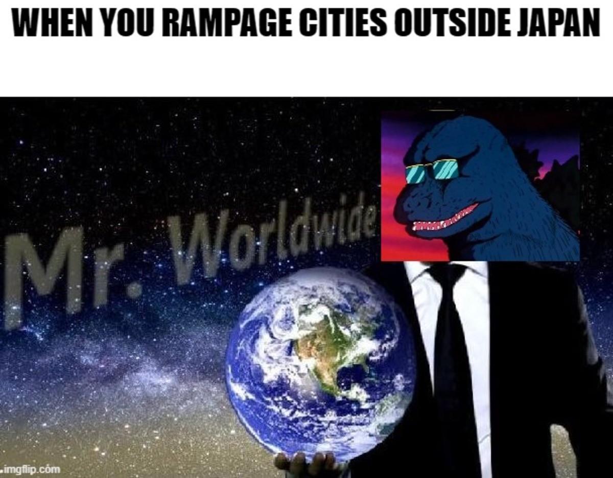 "Goji ""really loves"" Japan. ."