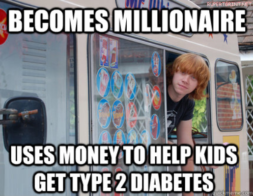 Good Guy Rupert Grint. .. And then there's Daniel.