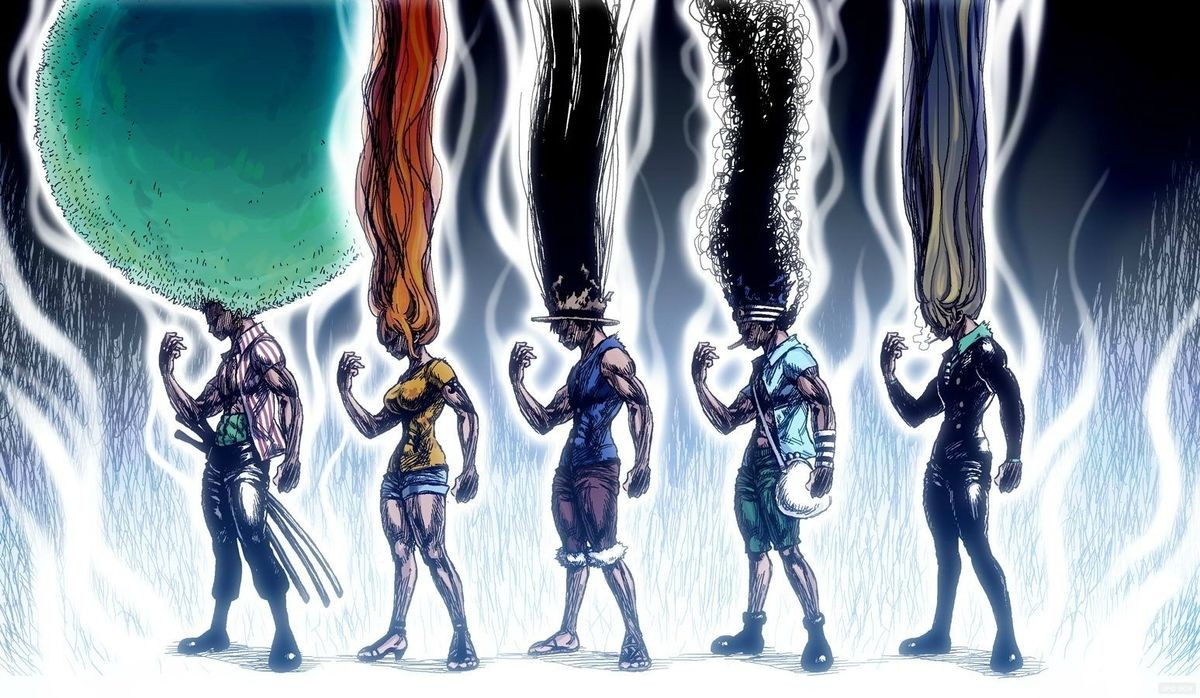 HAIR. join list: onepiece (236 subs)Mention History.. We all know having an afro means more power