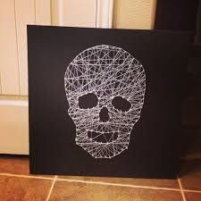 halloween string art. .. dude, can you like put all your halloween in a halloween channel or something? I'm tired of skipping half the new uploads because it's just pictures of hallowee