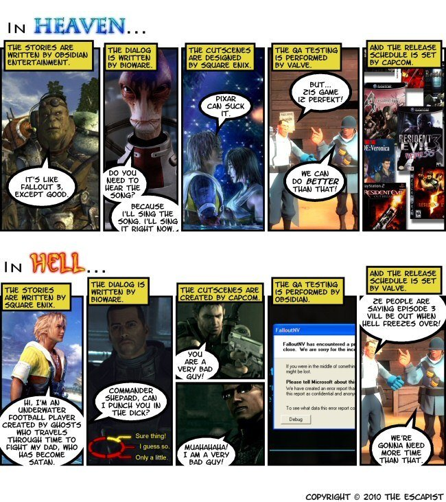 Heaven vs. Hell. 0% OC. IN HERVE laif IT, ran I Arr i' Aiit. PA IT EIGHT ICDH'... ESE if EVE. a yia. want: an JILL UT WHEN i' itarim/ a tia 2010 THE '. The dialog by Bioware is excellent, but don't let the dialog be tainted by Bioware.