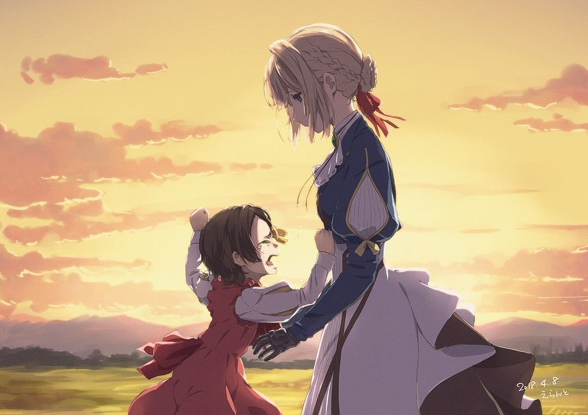Hey FJ You Should Watch Violet Evergarden. join list: Lewds4DHeart (1609 subs)Mention History join list:. If its a sad ending i dont think i could handle it