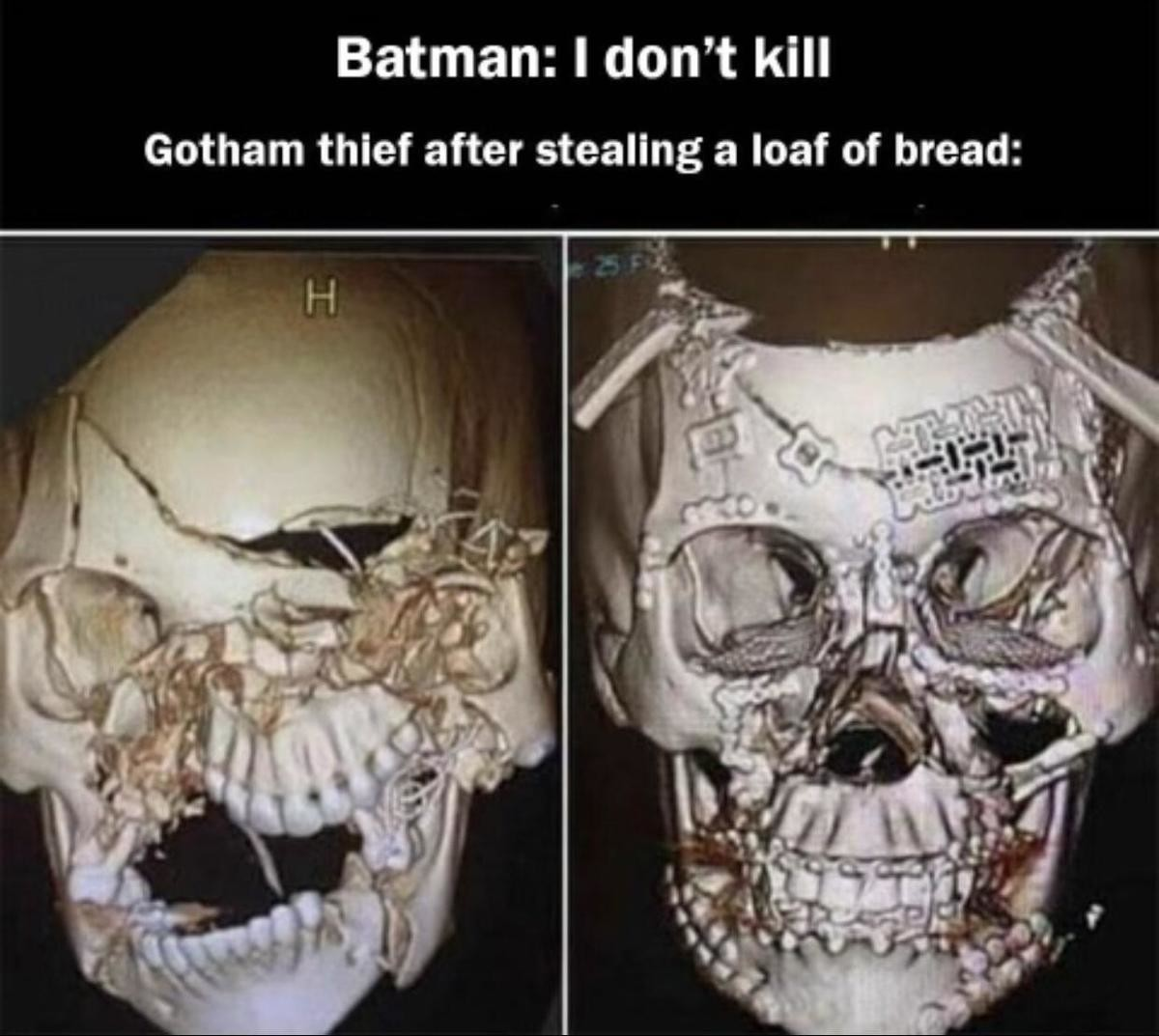 high-res s. .. Shouldna stole that loaf of bread in Gotham then. Metropolis is a river away and Superman would break your loaf-cutter in.