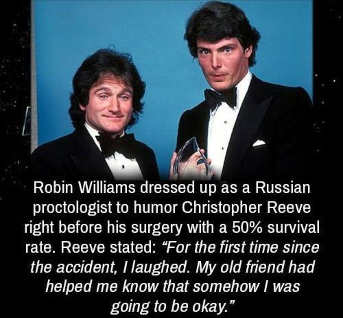hollow Kangaroo. .. Robin Williams was 5ft 7. No wonder he killed himself lmfao
