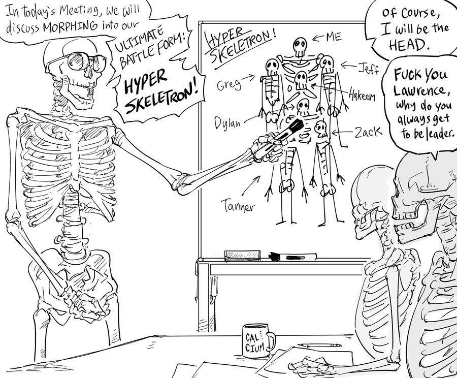 HYPER SKELETON FORMATION. join list: BONEZONE (781 subs)Mention History.. I love this artist so much
