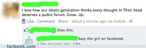 Idiotic Generation!. she loves it.... I lave haw DUI' Mini: thinkt event thememe in Their head deserves I public . Grew. up E :. -abaut a minute ago via mobile