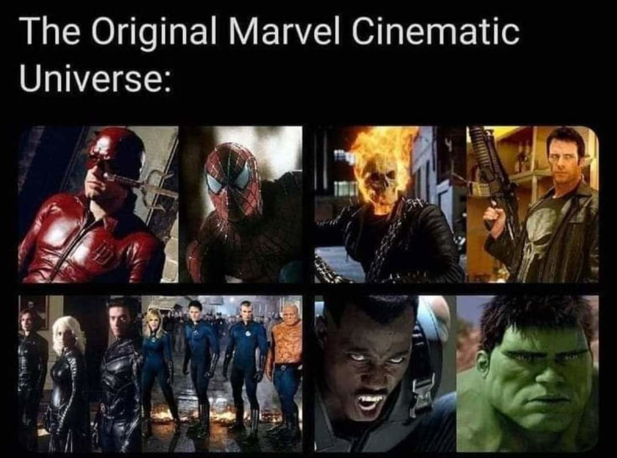 ill-informed Heron. .. What about the 1990 Captain America? And that's not the first Fantastic Four movie. Or the first Punisher.Comment edited at .