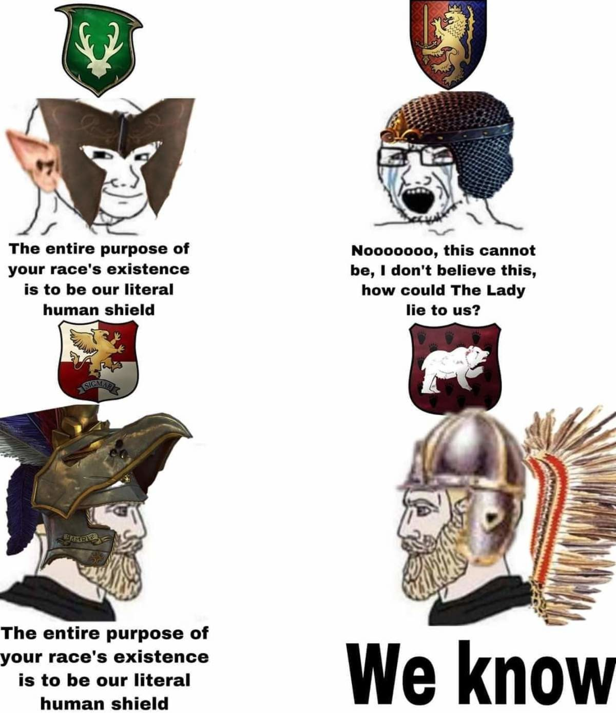 ill-informed rabid confused Trout. .. WINGED HUSSARS SOON LADS KISLEV NOW