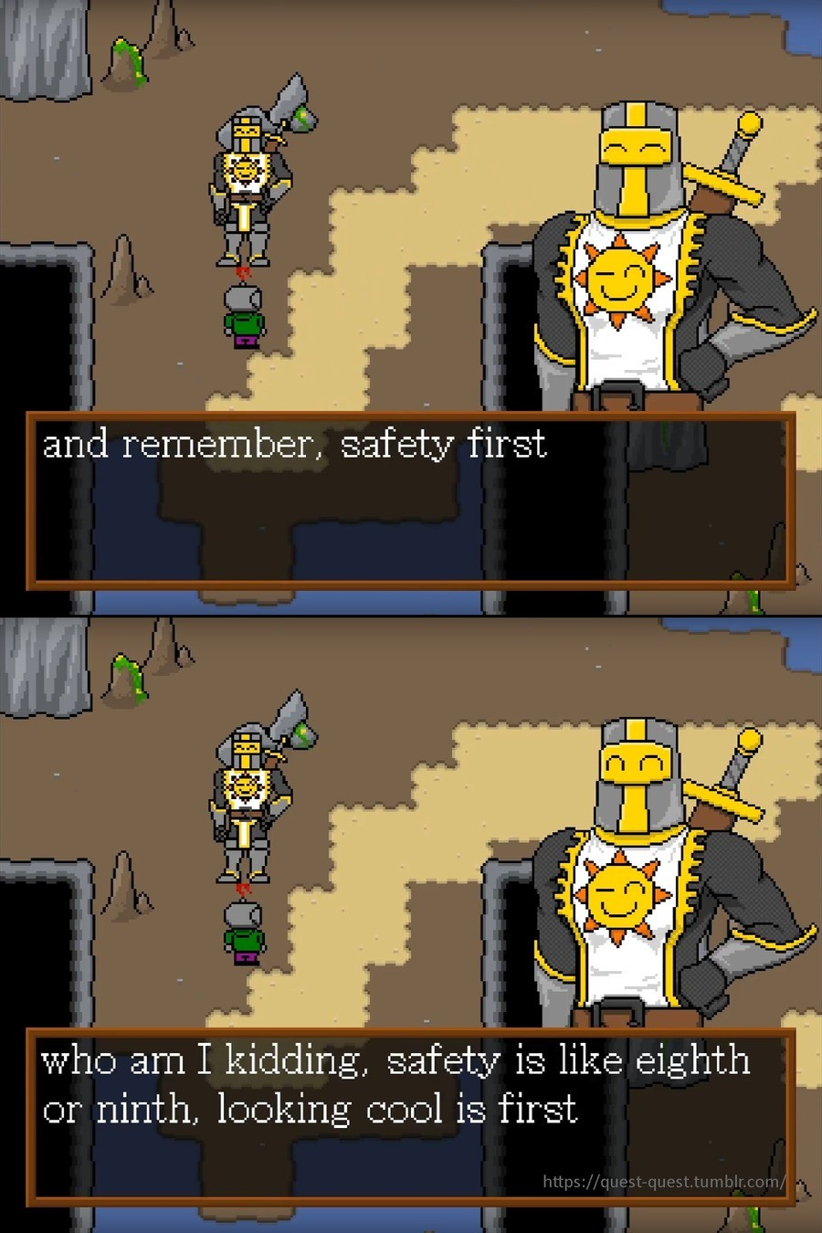 Important adventuring lessons. join list: ChromedDragonsIndieGame (1010 subs)Mention Clicks: 17667Msgs Sent: 46658Mention History well this weekend was a very s