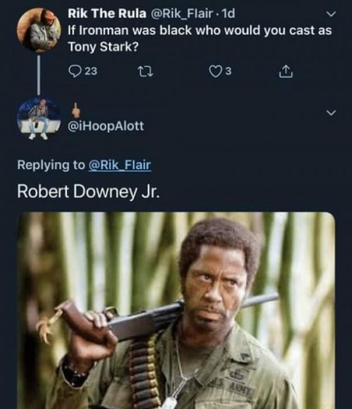 Iron Man. .. Will Smith