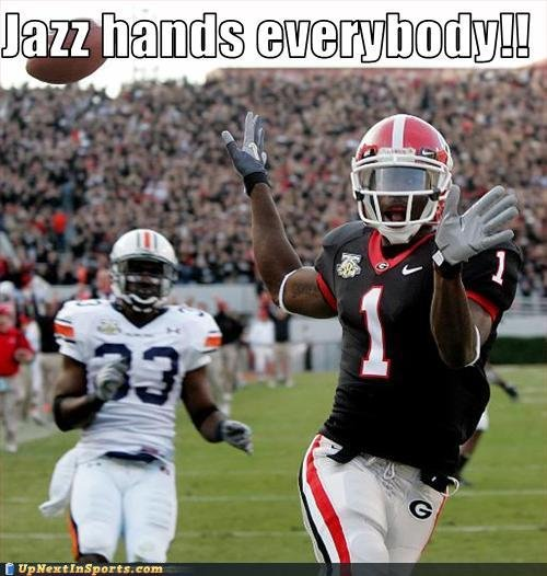 Jazz Hands Everybody!. Jazz hand fever!!!<br /> Thumbs up!.