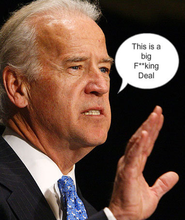 """Joe Biden F Bomb. Haha. If you don't know what im talking about search up """"joe biden f bomb"""" on youtube.<br /> Green vs. Red <br /&gt"""